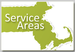 Yardworks Service Areas